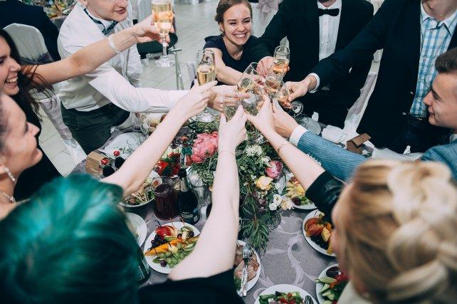 День свадьбы по времени