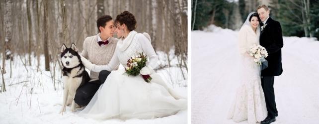 965cb8e44e10d61 Представьте, крыши домов и ветки деревьев, припорошённые легким снежком,  белоснежная дорожка, ведущая к роскошно украшенной ели, а возле — невеста в  ...