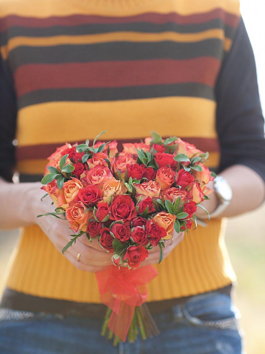 Букет с розами своими руками 510