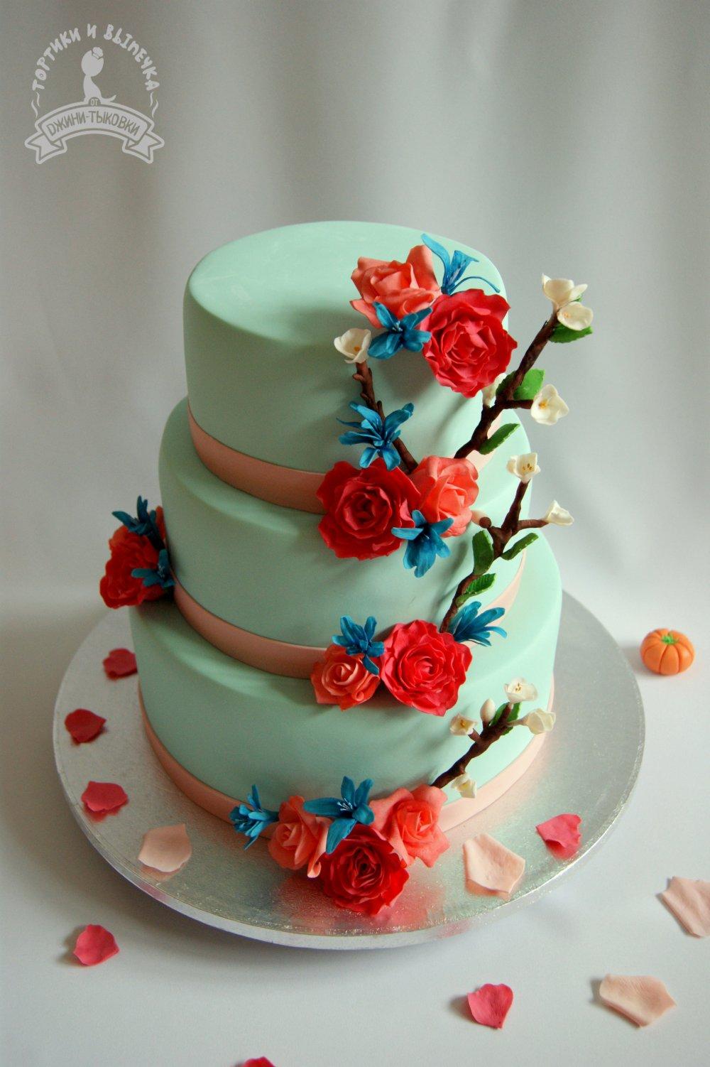 Свадебные торты на заказ в екатеринбурга