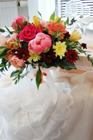 Свадебная флористика. Оформление стола