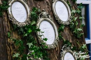 Доска рассадки гостей на свадьбе 61