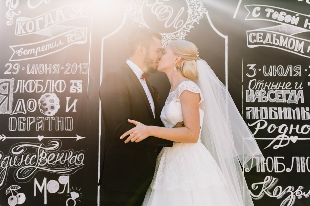 Фотозона на свадьбу казань