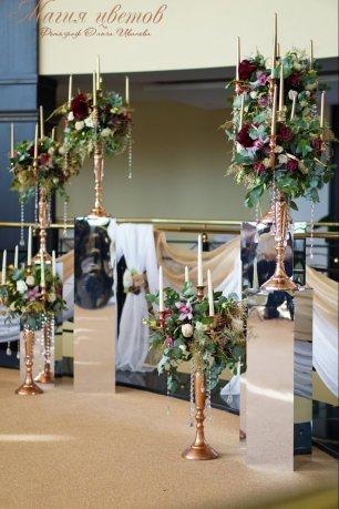 Стойки для свадьбы фото