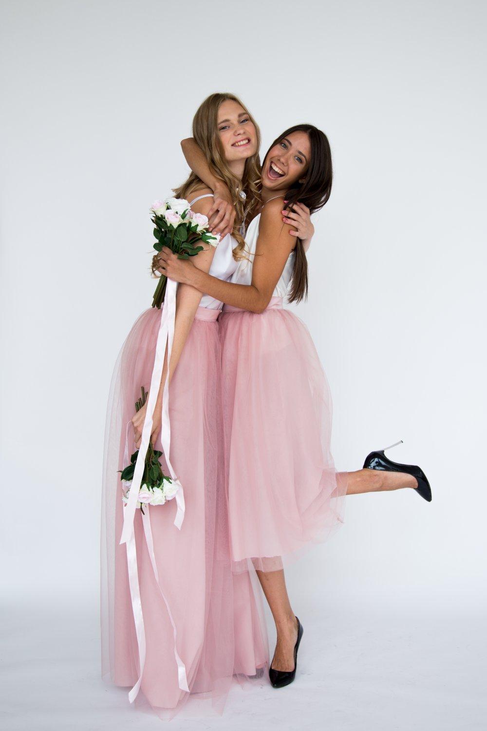 Юбки из фатина подружки невесты