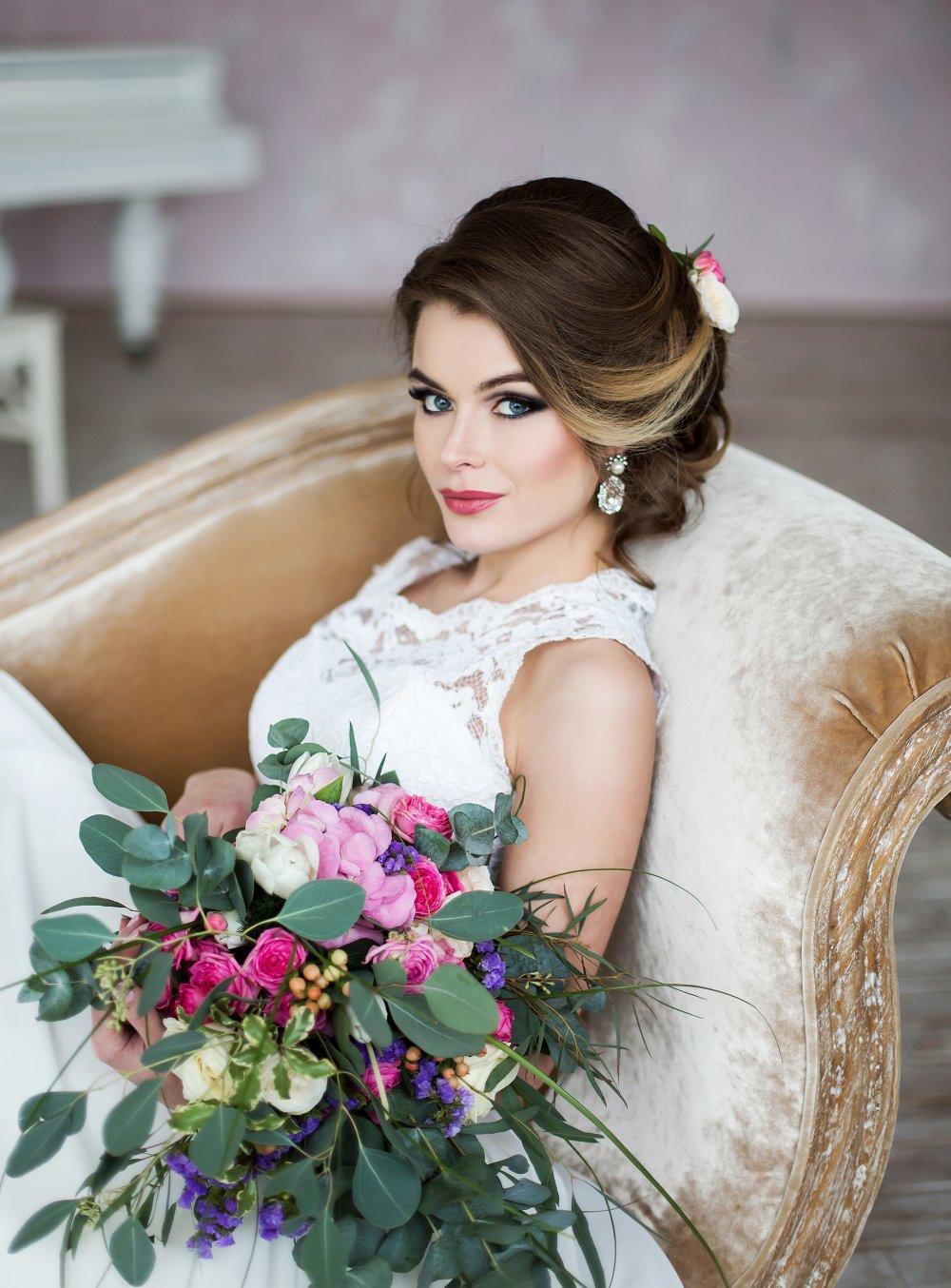 Шикарный образ невесты