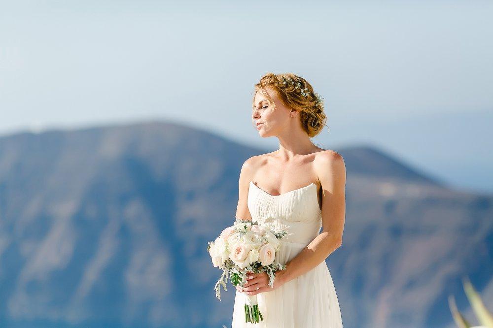 описание свадебный образ невесты в греческом стиле фото неё
