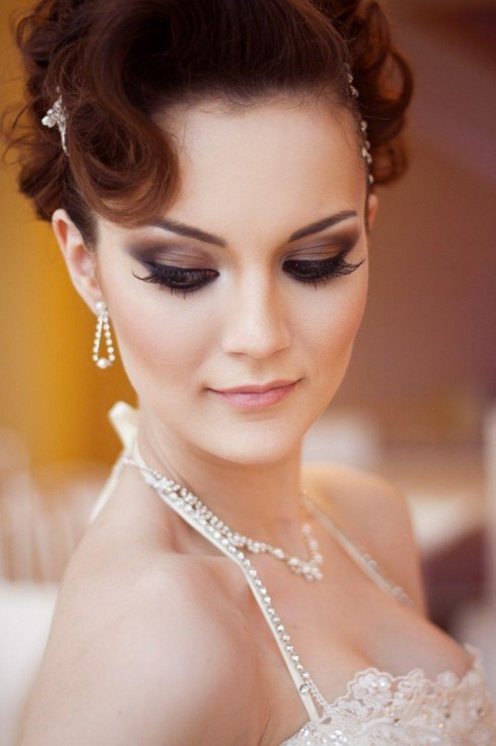 Свадебный вечерний макияж услуги