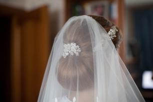 Классическая свадебная прическа