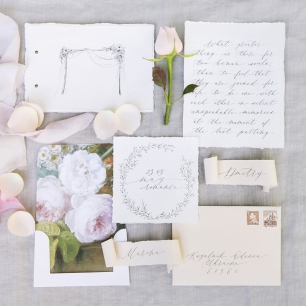 Коллекция каллиграфии для фотосъемки