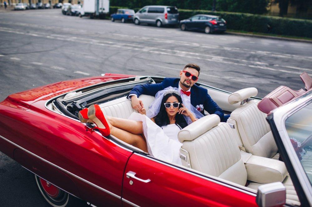 свадебный автомобиль, кабриолет на свадьбу, свадебная машина, кабриолеты, невеста в кабриолете - The-wedding.ru
