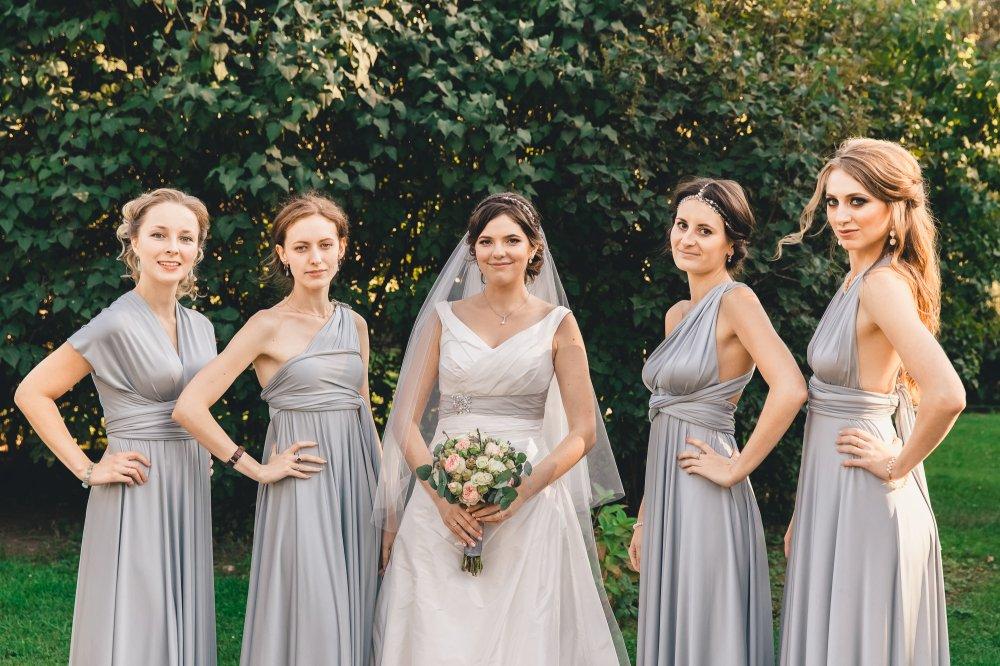 Платье для подружек невесты омск