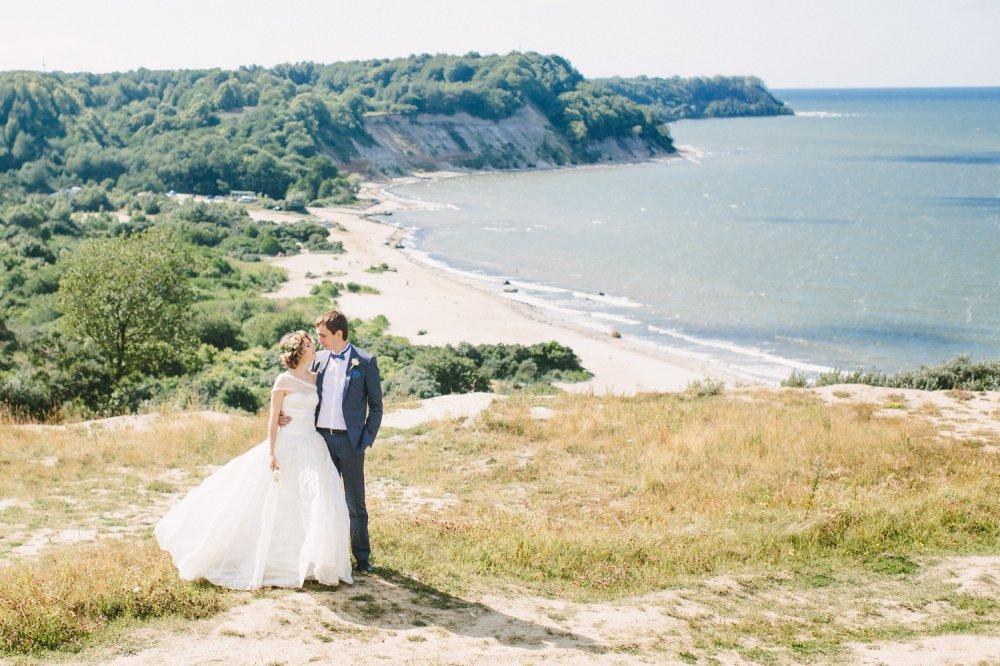 свадебная фотосессия на море калининград еще