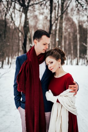 Winter wedding Oksana and Max