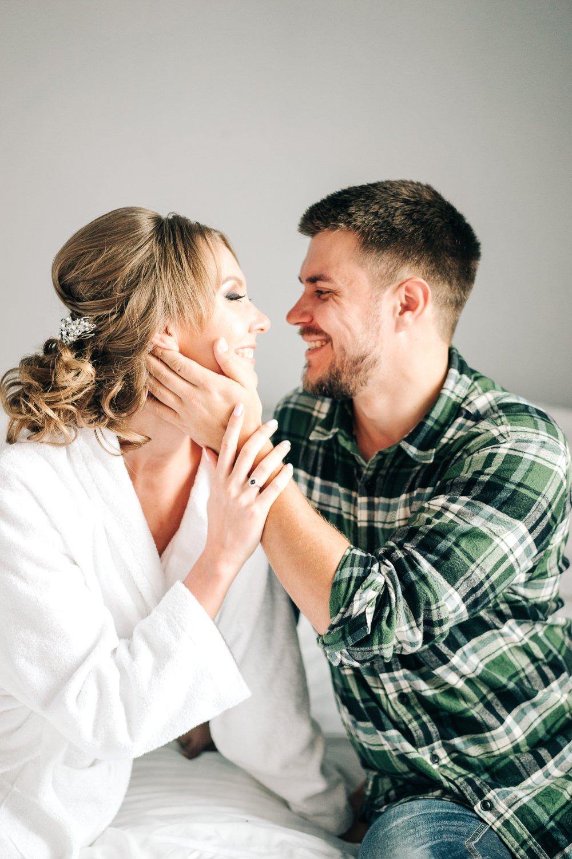 Утро жениха и невесты совместное