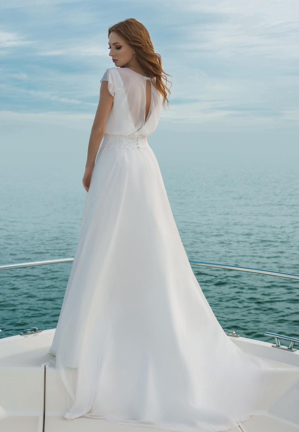 Двойное платье свадебное