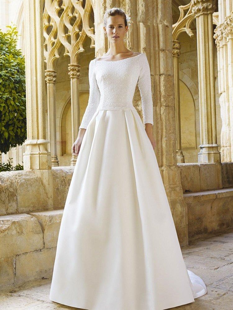 Платье на венчание свадебное