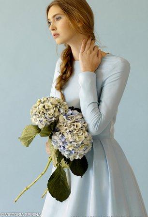 Голубые свадебные платья в таллинне
