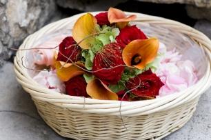 Яркие цветочные акценты для церемонии