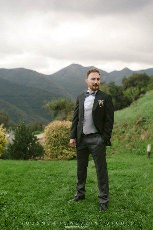 Свадебная церемония в горах, свадьба в Испании