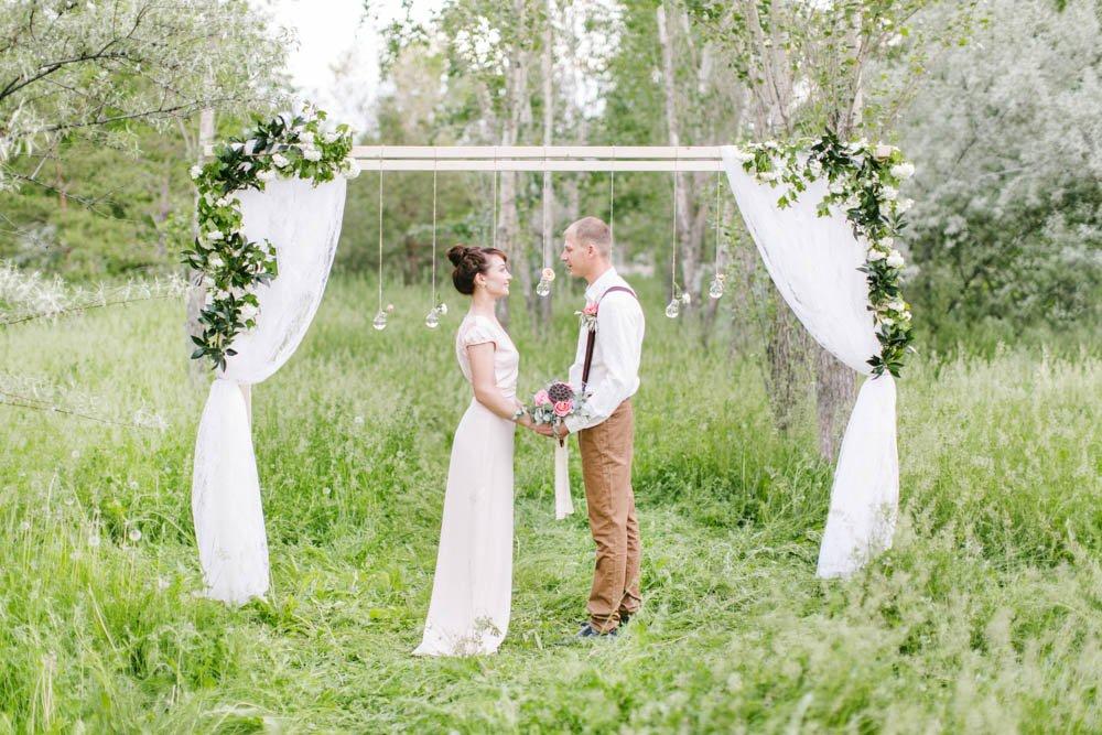 свадебняа арка летом в Иваново