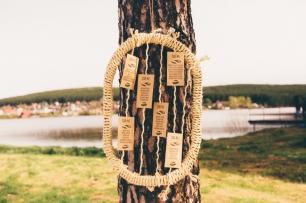 Оформление свадьбы в бохо-стиле, схема рассадки гостей