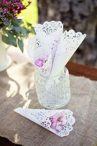 Кульки для лепестков на свадьбу своими руками