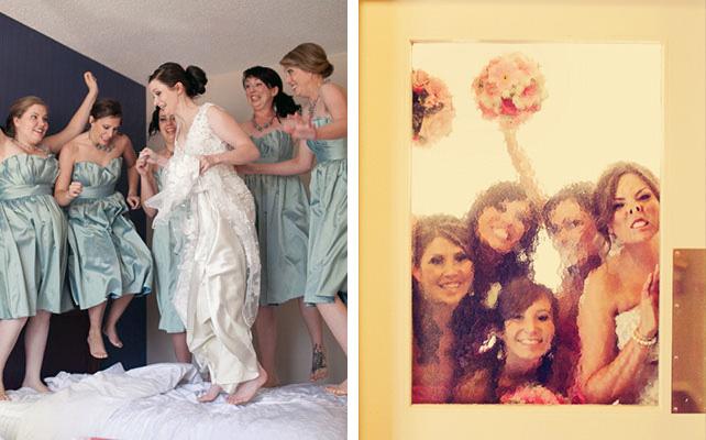 смешные фото невесты и подружек