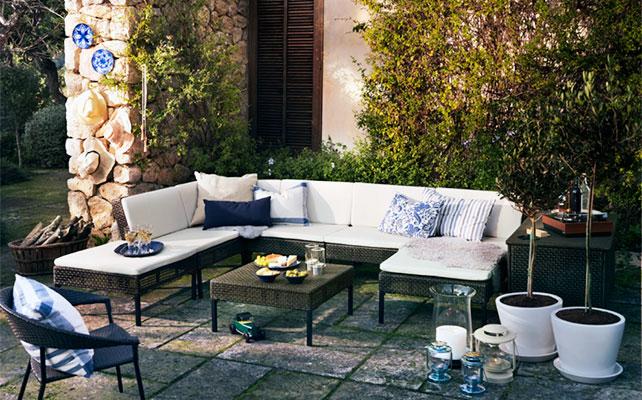 Ikea textil jardin