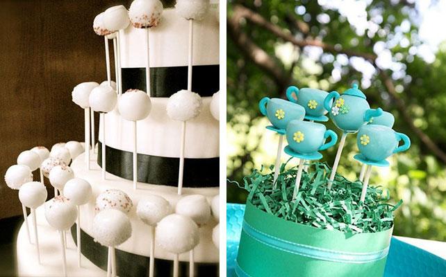 12 идей для незабываемой свадьбы, Кейк попс на свадьбе