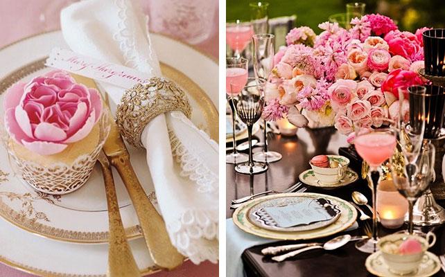 12 идей для незабываемой свадьбы, Свадьба в золотом цвете