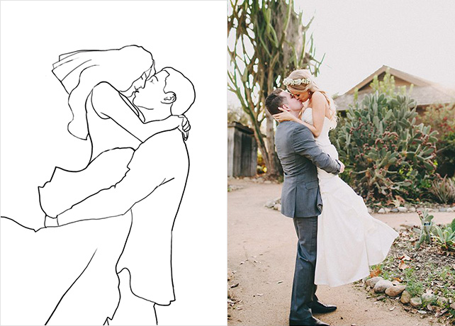 свое выигрышные позы для свадебной фотосессии материал можно