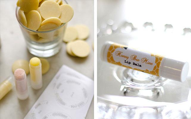 подарки для гостей на свадбе, бальзам для губ