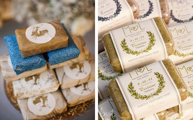 подарки для гостей на свадбе, мыло