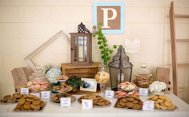 подарки для гостей на свадбе, печенье