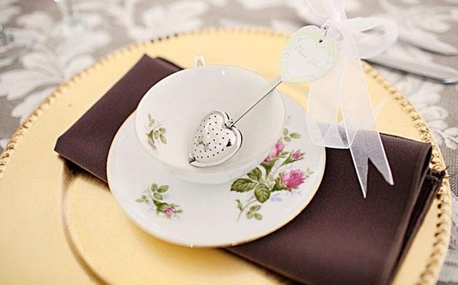подарки для гостей на свадбе, чайное ситечко