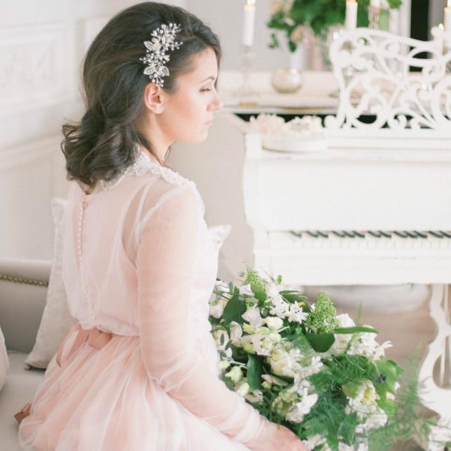 f7fc17ff95c Свадебные тренды  «розовый кварц» — главный цвет 2016 года