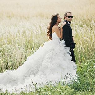 Белоснежная свадьба артёма и марии