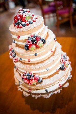 Свадебный торт с фруктами фото беларусь