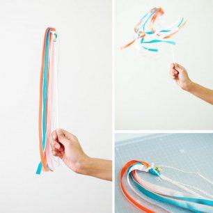 Как сделать приветственные ленты
