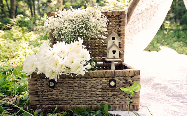 осенняя свадьба, эко-стиль в декоре