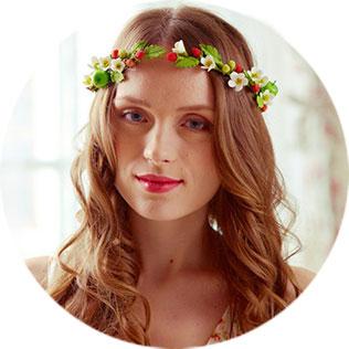 Катя Когут, цветочная фея, изделия из полимерной глины