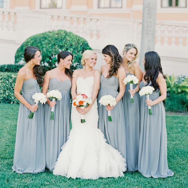 3195ef797e7f73b Образ подружки невесты: серый — цвет роскоши и благородства