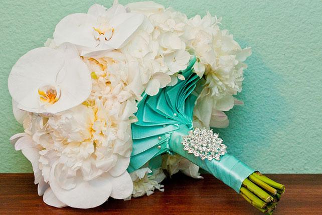 Свадебный букет тиффани
