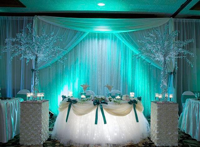 свадьба цвета тиффани фото