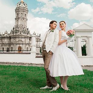 Ретро свадьба романа и анны