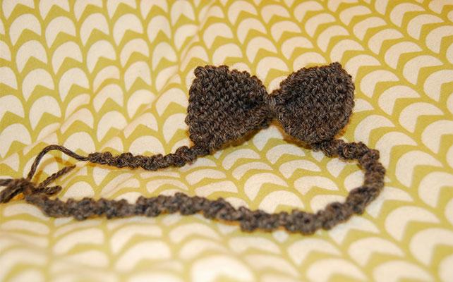 Галстук-бабочка с прямоугольными концами