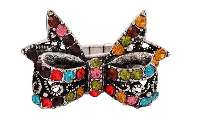 Железная галстук - бабочка гламурная для жениха и друзей жениха на свадьбе