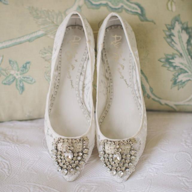 свадебные балетки для невесты фото