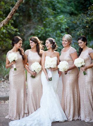 Бежевые платья невесты фото